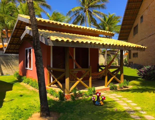 Hotel Pousada Beleza das Ondas Bangalô triplo