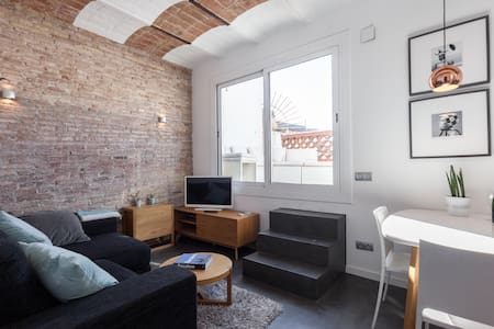 Rooftop Apartment with terrace and views - Barcelona - Lejlighed