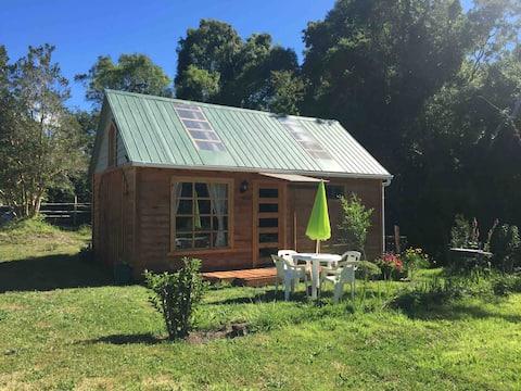 Encantadora cabaña en Ensenada con acceso a lago