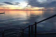 Mandeville Lakefront sunset taken by yours truly.