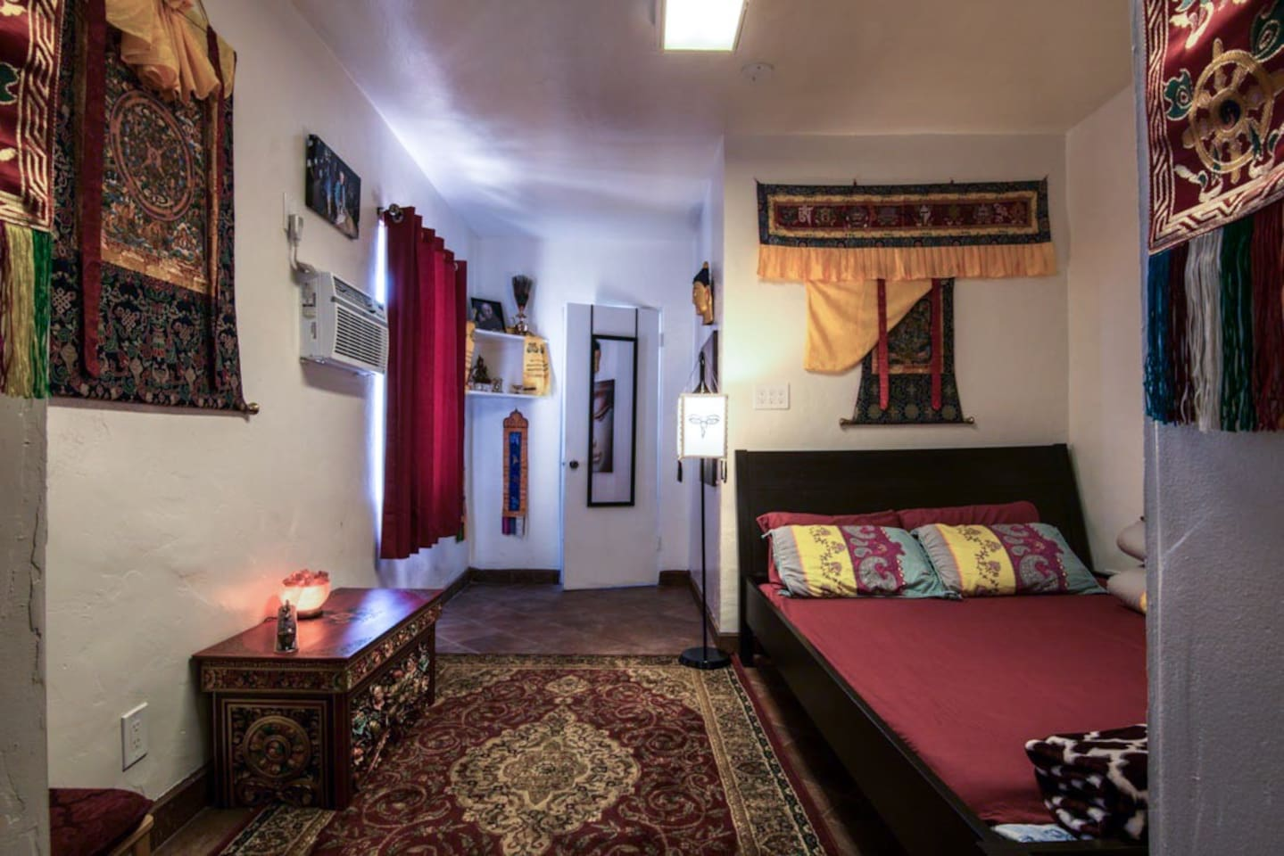 Queen-Sized room in the Tibetan/Sherpa style