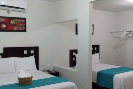 Hotel Rosvel, Hab.  Suite Ejecutiva: (Max 4) - Palenque - Byt