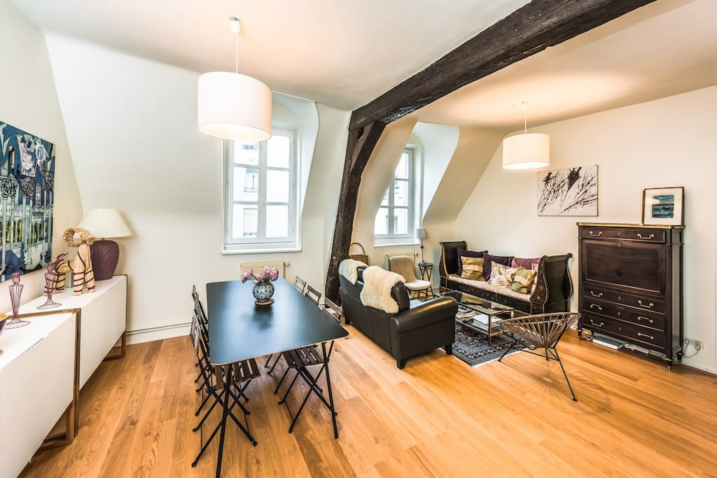 Charming flat for 6p near Bastille
