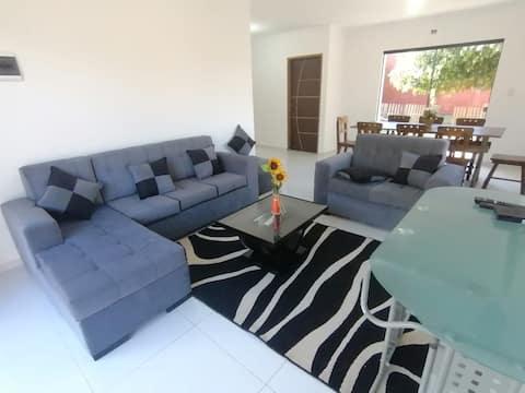 Hermosas y cómodas habitaciones con WIFI y AC