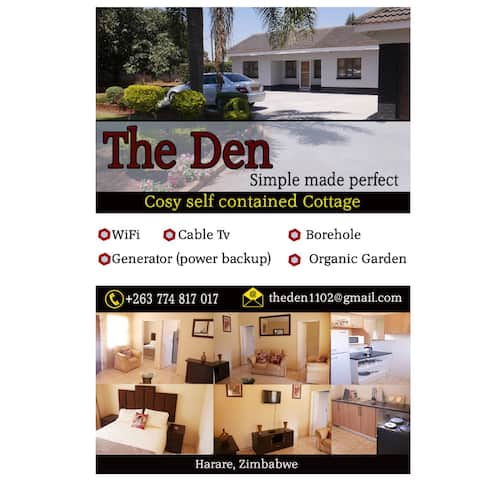 The DEN, Harare Home away from home....