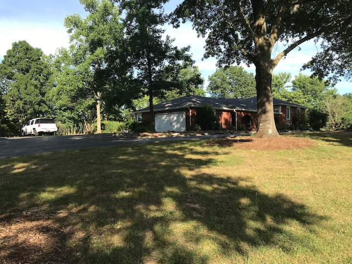 Large home on James River