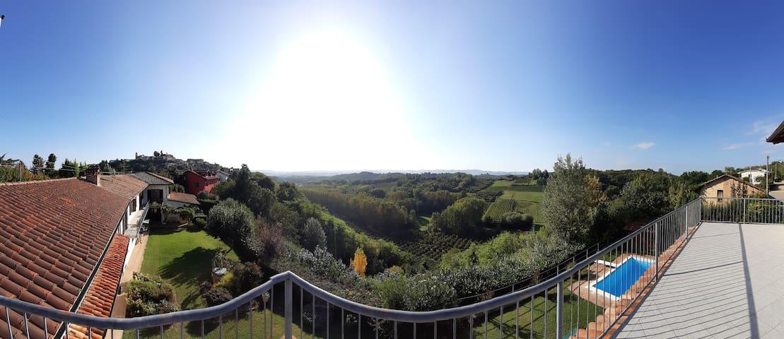 Second floor terrace view