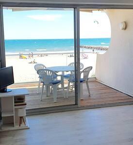 Appartement f3 vue mer 1ère ligne Carnon Palavas