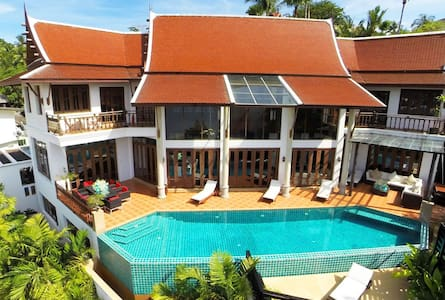 THVGPH406 Cozy 5 bed duplex pool villa - Patong