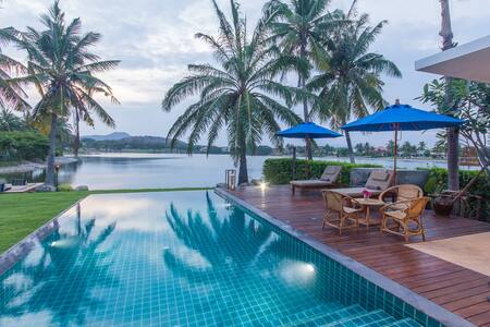 Iconic Lakefront Villa+Maid PalmHills Golf Hua Hin