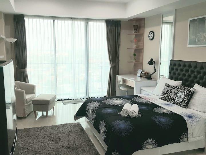 Cozy 1BR Studio Nine Residence, Mampang,Jakarta