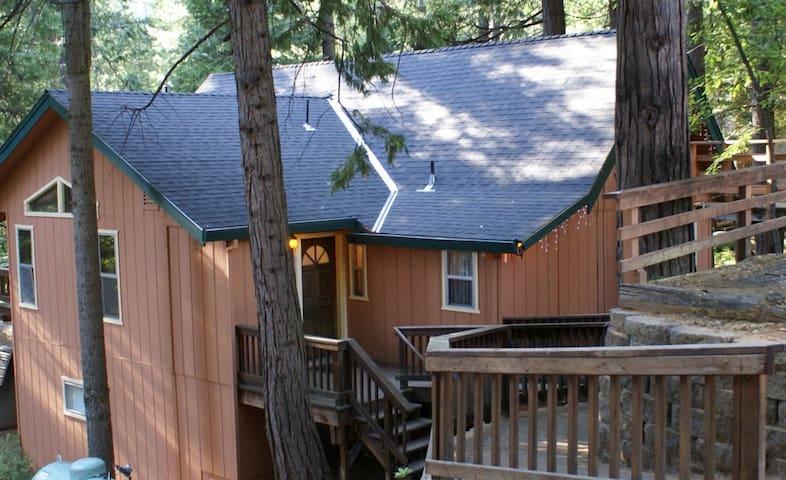 Sugar Pine Cabin - Twain Harte - Kulübe