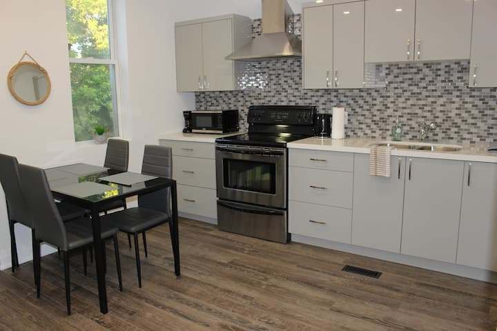 Newly renovated 2bdrm apt in the heart of Hamilton