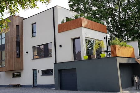 Very cozy apartment near Liège with parking