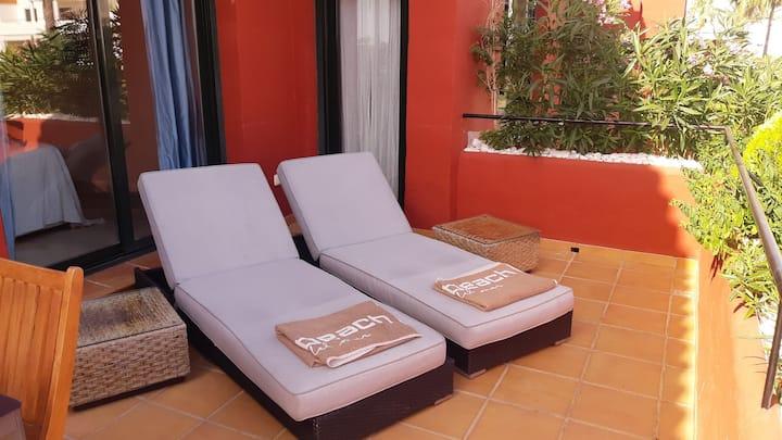 Sea view! Modern 2 bed apt near to Costalita beach