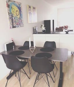 Room in a brand new apartment with sunny balcony - Copenhague - Appartement