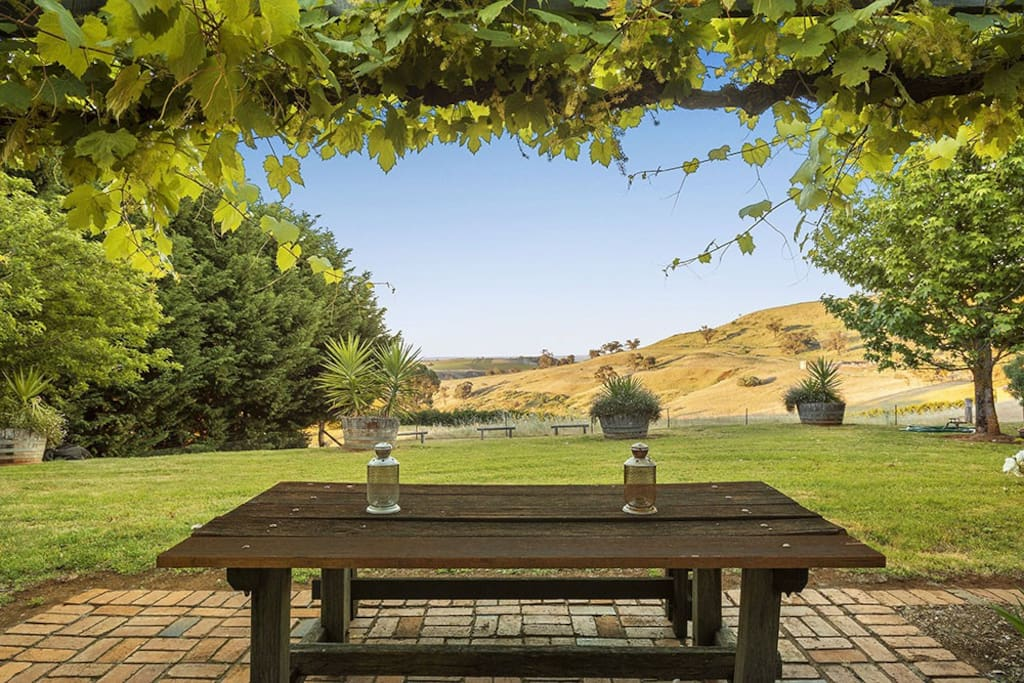 your personal outlook from the Cattleman's veranda