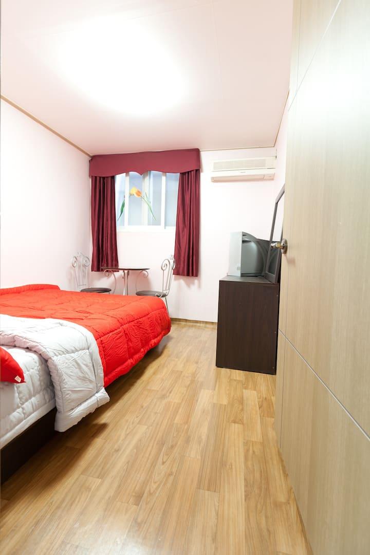 더블룸 Double room
