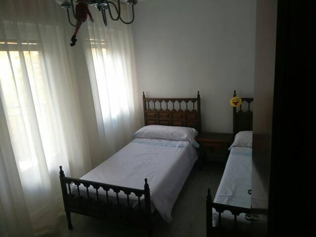 Cómoda habitación en el centro de la ciudad