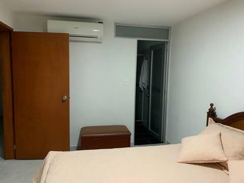 Habitación cama doble en Quinta Oriental