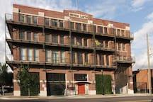 City Loft Industrial Studio in East Downtown