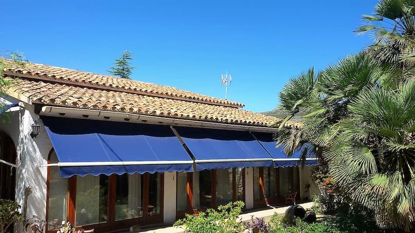Villa Riurau en el corazón del Valle de Xaló