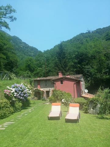 Total relax in collina sul torrente