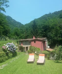 Total relax in collina sul torrente - Valgiano