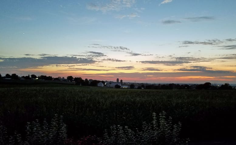 Amish Acres Sunset Overlook