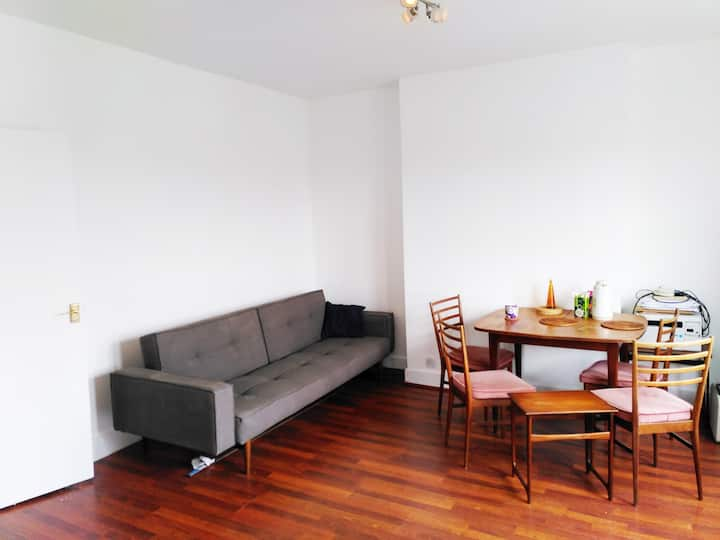 Super nice one bed flat zone 2 with garden