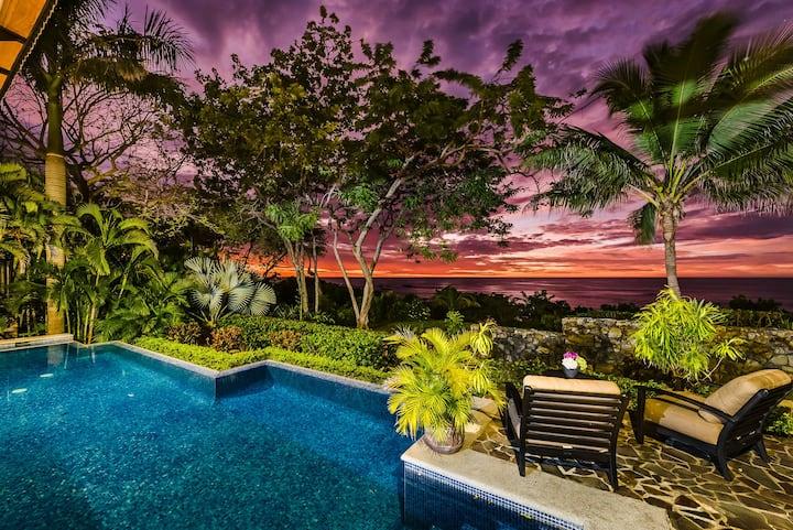 Casa Fuente~Beachfront Villa, Best Sunset Views