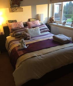 Beautiful Double rooms x3 Near Bristol - Frampton Cotterell - 단독주택