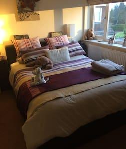 Beautiful Double rooms x3 Near Bristol - Frampton Cotterell - 獨棟