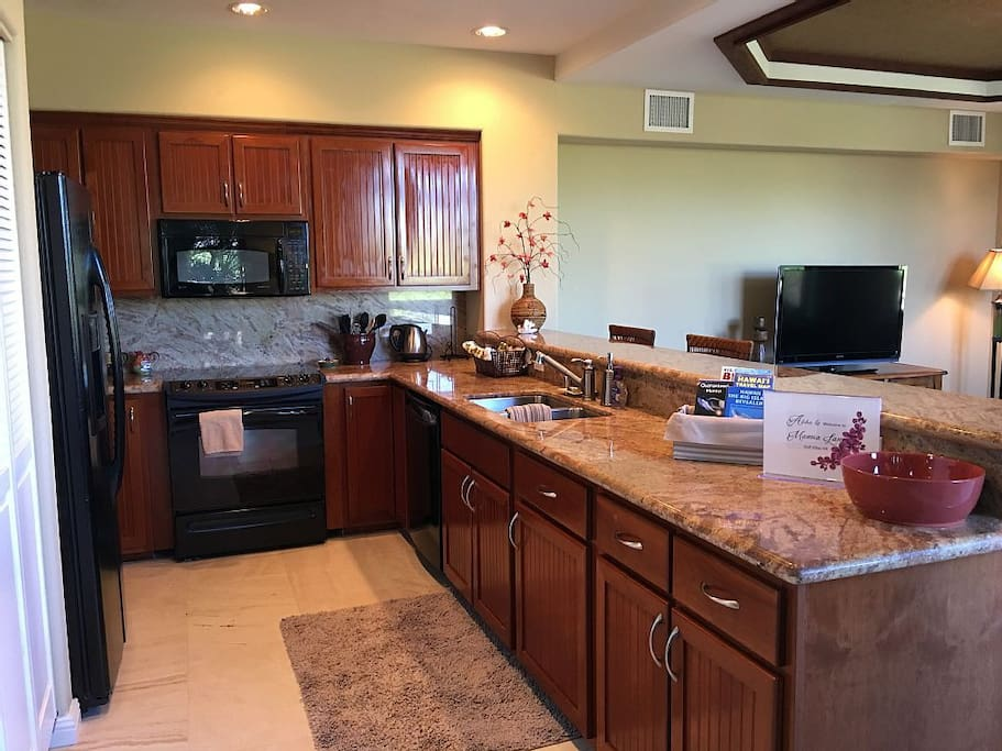 Updated Chef's Kitchen with all the comforts of home