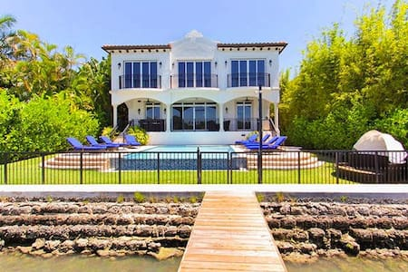Beautiful Hibiscus Island 5 Bedroom Villa - Miami Beach - Villa