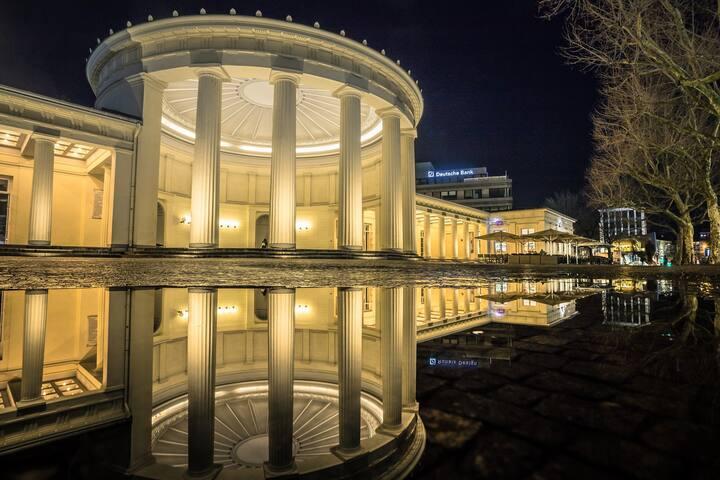 Elisenbrunnen FOUNTAIN