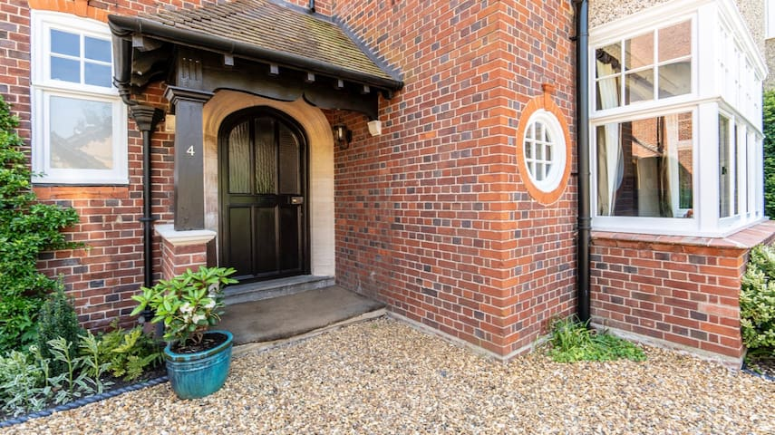 Beautiful home in Cambridge city centre for 6-10