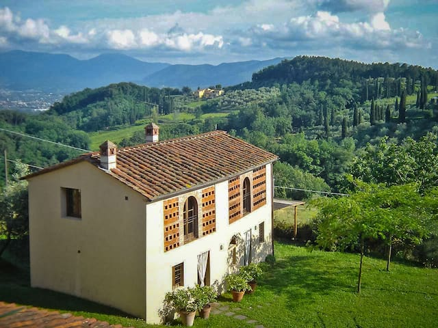 Agli orti - Detached house with a wonderful view