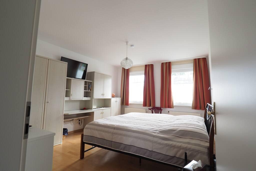 Schlafzimmer FeWo Haus Koppelblick Fam. von Auw