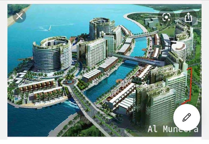 Al Muneera, 2 bedroom apartment, Abu Dhabi.