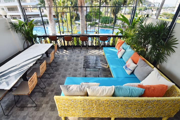Blu Beach Haven Hua Hin - Beachside Chic Space