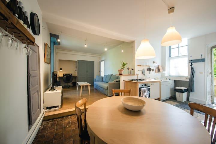 Appartement au coeur d'un Domaine en Côte-Rôtie