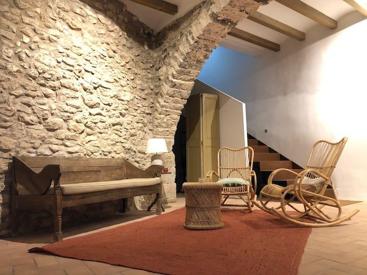 Ca Roca, apartament rural a la toscana catalana