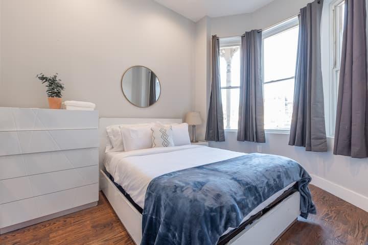 Prime 2 Bed 1.5 Bath Gem | At Journal Square