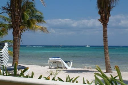 Can't Get Any Closer to the BEACH! - Puerto Aventuras - Condominium
