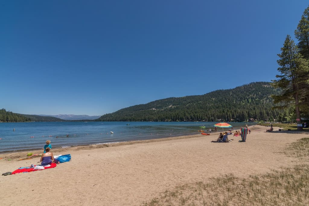 Donner Lake Beach Rv Glamping Campers Rvs For Rent In