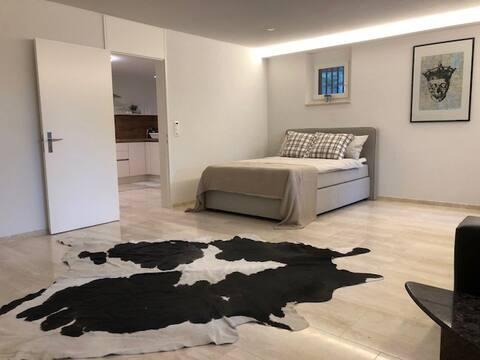 Gemütliche  1.5 Wohnung mit Privatsphäre in Baar