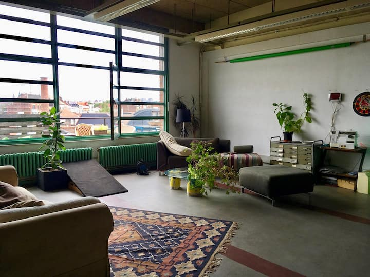 Industrial Loft Brussel