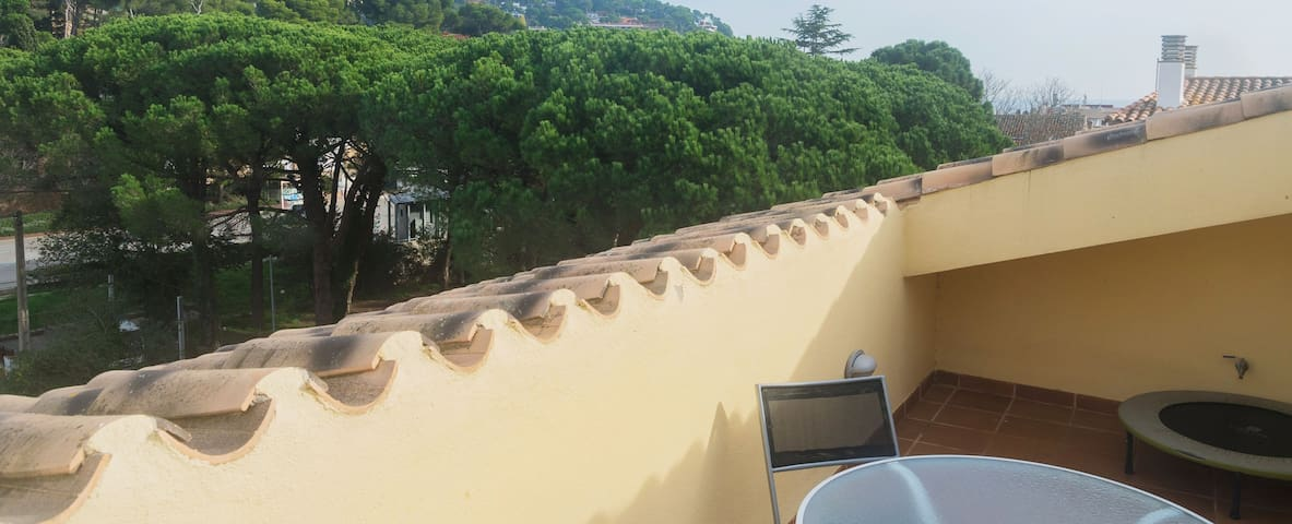 Spacious apartment in the center of Llafranc, only 200 meters from the beach. The duplex a - Llafranc - Apartment
