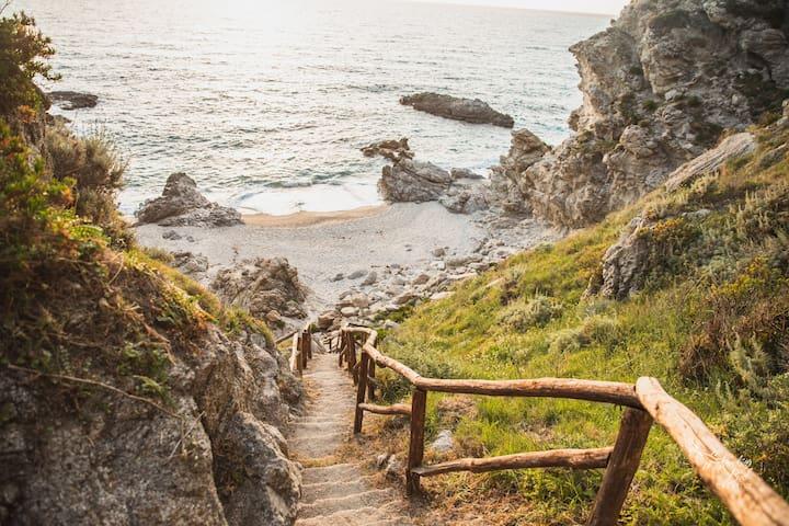 Casa vacanze nella Natura con spiaggia privata